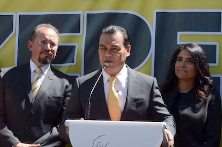 Juan Zepeda afirma que ganará la gubernatura y llamó cínico a Alfredo del Mazo