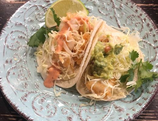 Simple & Delicious Fish Tacos (GF too)