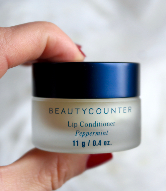 beautycounter peppermint lip conditioner