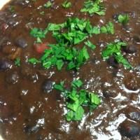 Caribbean Comfort - Jamaican-style Black Bean Soup