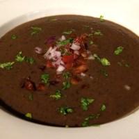 Jamaican-style Black Bean Soup