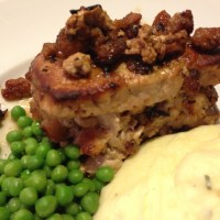 Stuffed Pork Chops -- A Sage Delight!