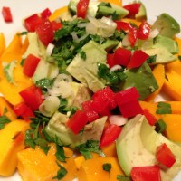 Tropical Mango and Avocado Salad