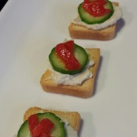 Smoked Whitefish Mini Toasts