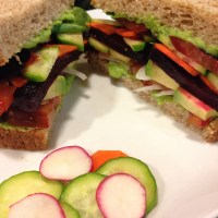 Garden Vegetable Sandwich