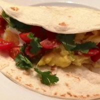 Just Egg Vegan Breakfast Tacos