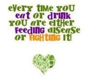feeding disease or fighting it