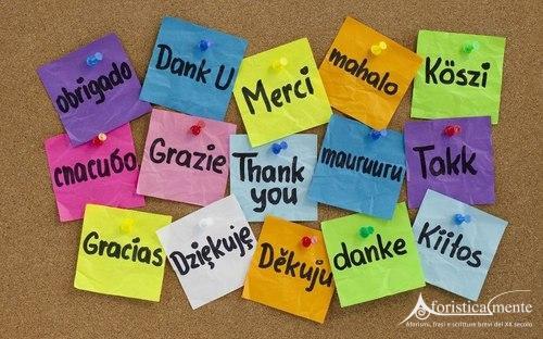 Frasi per dire grazie