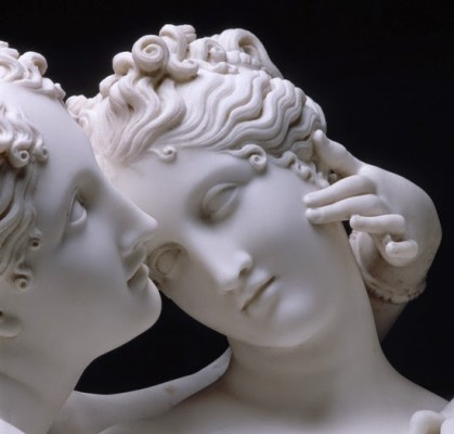 Antonio Canova - Three Graces, detail