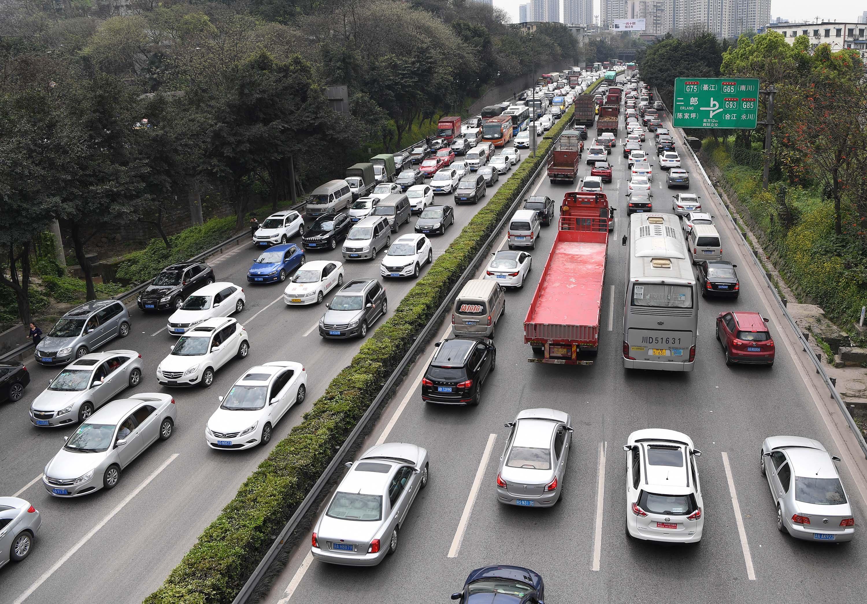 渋滯都市ランキングを発表 50都市の半數が改善 寫真1枚 國際 ...