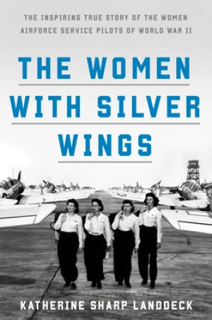women with silver wings