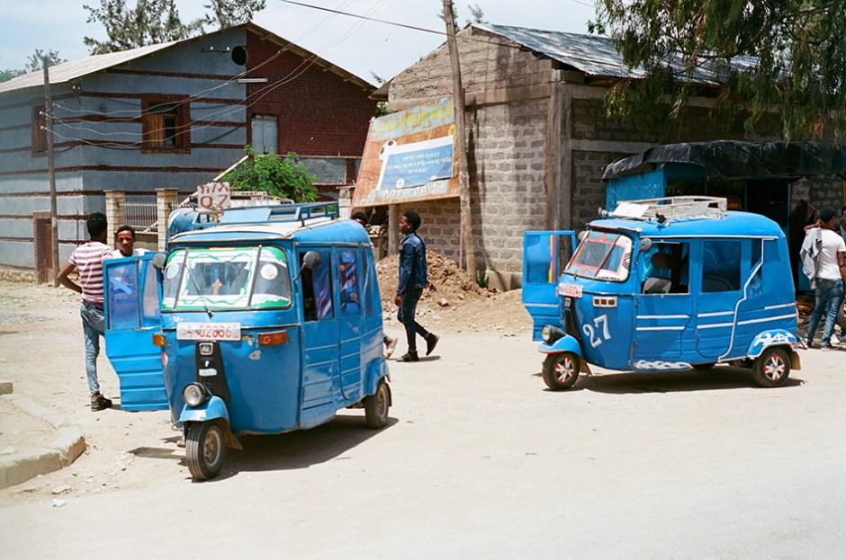 18 - Two bajaj in Tigray