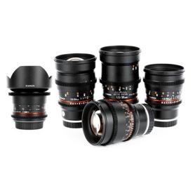 Rokinon Cine DS Prime Lens Set
