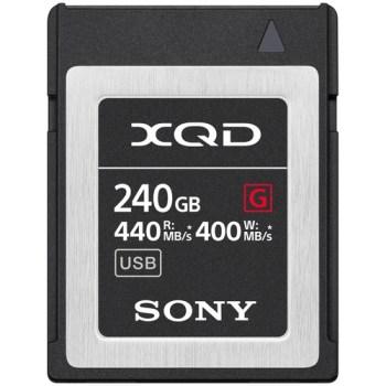 Sony XQD Cards