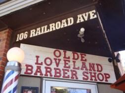 A classic barber shop