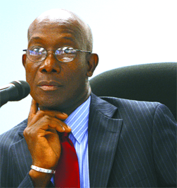 Dr. Keith Rowley, MP. Photo courtesy the Trinidad Guardian