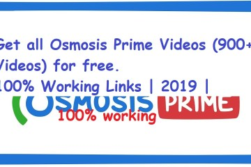 Osmosis Prime 900 videos free download