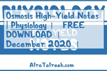 Free download Osmosis High-Yield Notes Physiology PDF