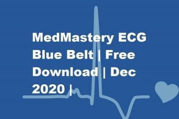 MedMastery ECG Bluebook free download 2020