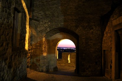 Staying in the old city lets you capture the feel of the ramparts in the evening