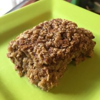 Apple & Honey Oatmeal Bars