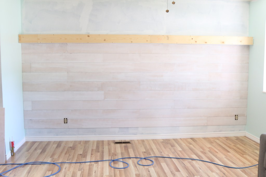 Diy Plank Wall A Tutorial For Beginners A Fresh Squeezed Life