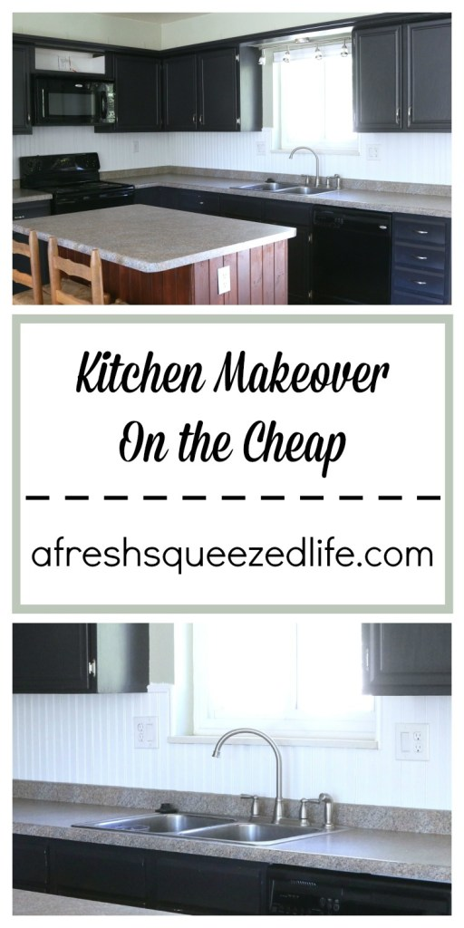 Kitchen Makeover on the Cheap