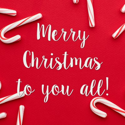 MERRY CHRISTMAS TO YOU ALL!