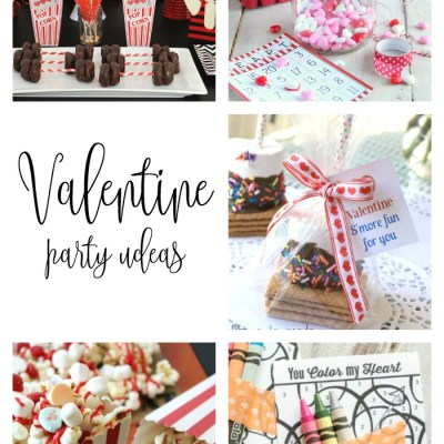 VALENTINE'S PARTY IDEAS + LINK PARTY 183