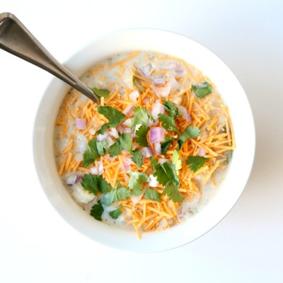 CHICKEN CHILI SOUP: A RECIPE