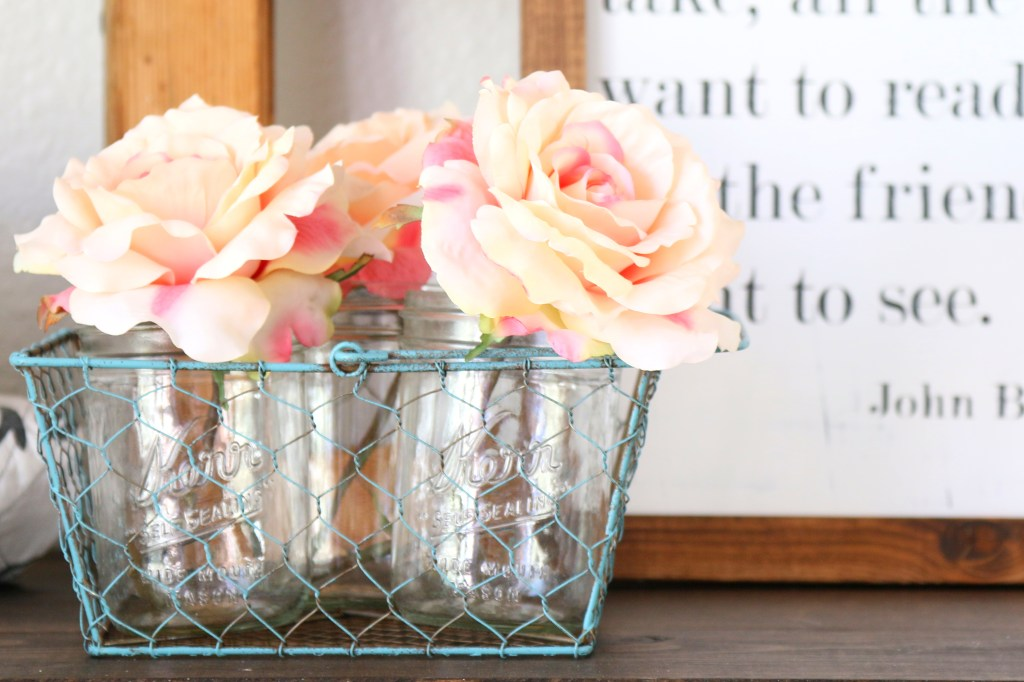 The weather is warming up and days are getting longer, and we need to bring spring indoors. Let me show you some ways to add to your spring home decor!