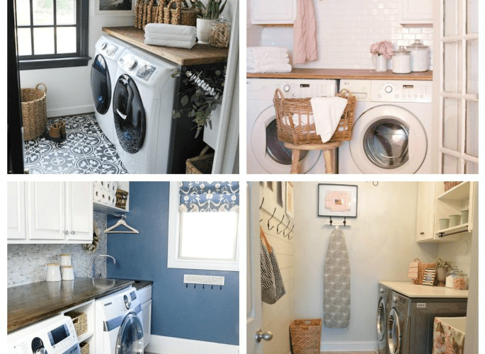 MY FAVORITE LAUNDRY ROOM MAKEOVERS