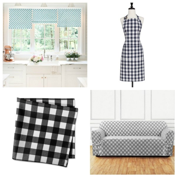 MY FAVORITE WAYS TO USE GINGHAM IN THE HOME
