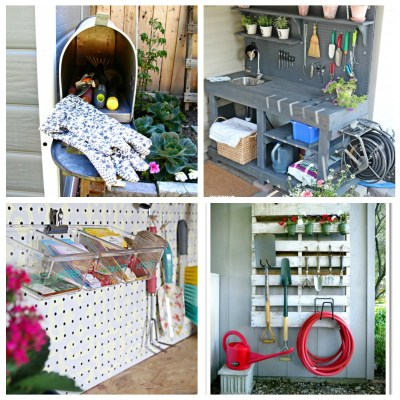 CREATIVE WAYS TO ORGANIZE YOUR GARDEN TOOLS