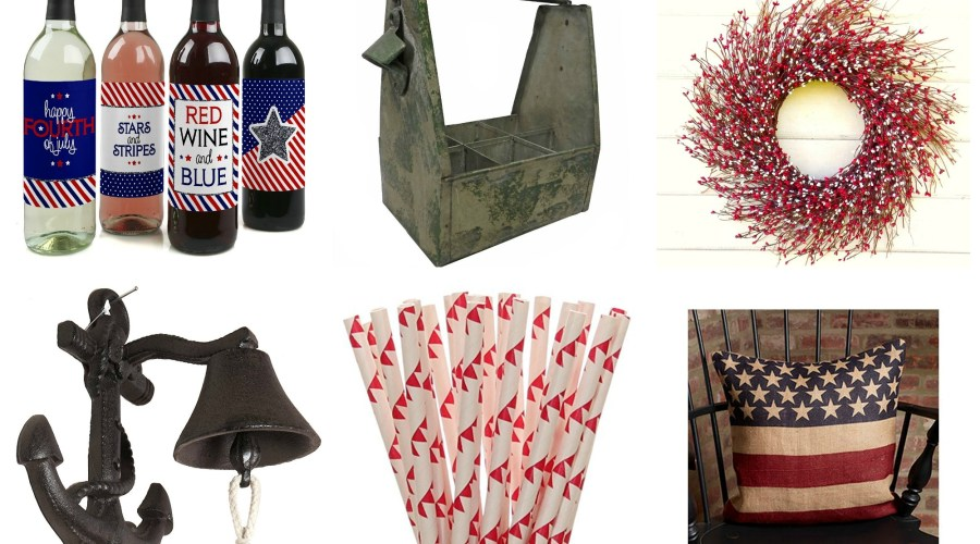 THE BEST PATRIOTIC TOUCHES FOR YOUR HOME ON FOURTH OF JULY