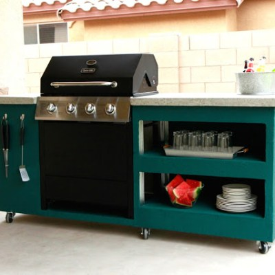 MAKE YOUR OWN DIY OUTDOOR KITCHEN AREA