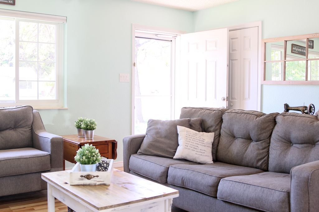 """Welcome to my home! My little house is being transformed from drab and boring to """"just right for me""""! Come on in and tour my home! WELCOME TO MY HOME"""
