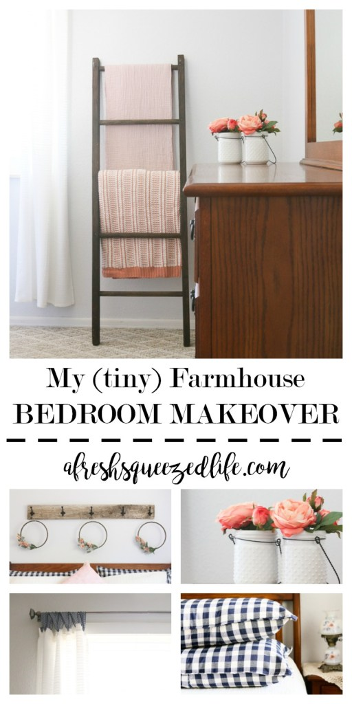 Armed with $250 and a bit of time on my hands, I have a whole new bedroom! Let me show you my tiny farmhouse bedroom makeover! MY (TINY) FARMHOUSE BEDROOM MAKEOVER