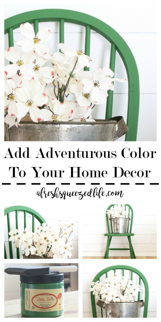 I love color! And I love to use it in my home decor. Let me show you how to add adventurous color to your home decor! Color Home Decor. ADD ADVENTUROUS COLOR TO YOUR HOME DECOR