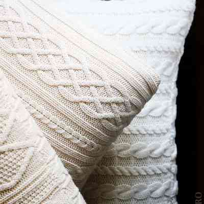 TURN AN OLD SWEATER INTO DIY HOME DECOR