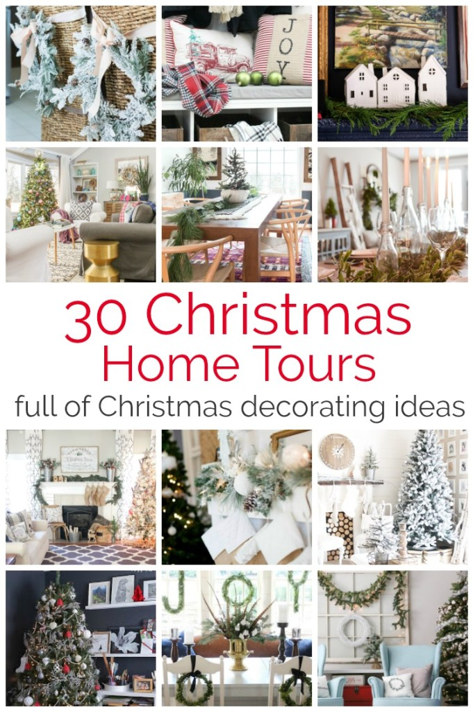 Welcome to A VERY MERRY CHRISTMAS HOME TOUR! Sit back and enjoy 30 creative bloggers and their take on Christmas decorating!