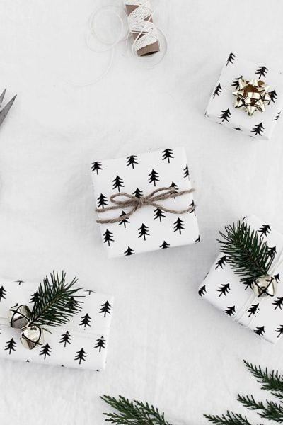 ADORABLE IDEAS FOR DIY CHRISTMAS GIFT WRAP