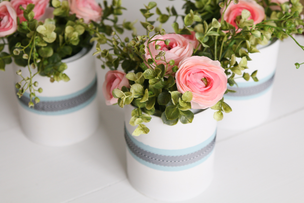 Diy Recycled Metal Flower Pots A Fresh Squeezed Life