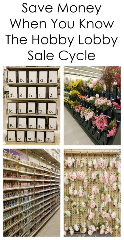 Save Money With The Hobby Lobby Sale Cycle And Coupon A Fresh Squeezed Life