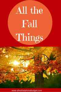 Living with Style Blog Hop: All the Fall Things