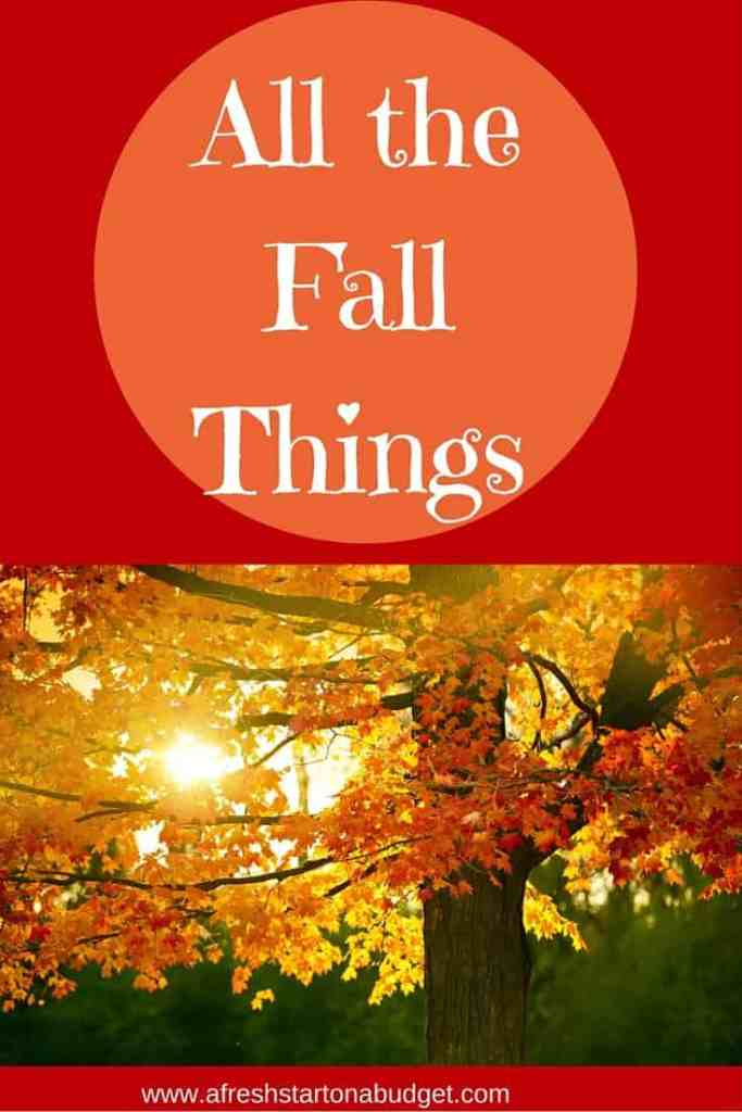All the fall things
