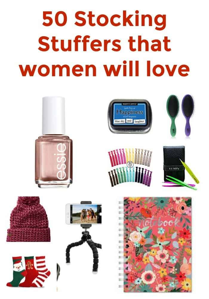 50 Stocking Stuffers for women that they will love