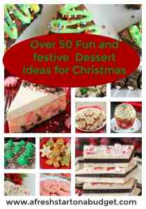 Over 50 fun and festive Dessert ideas for Christmas