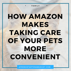 How Amazon makes taking care of your pets more convenient