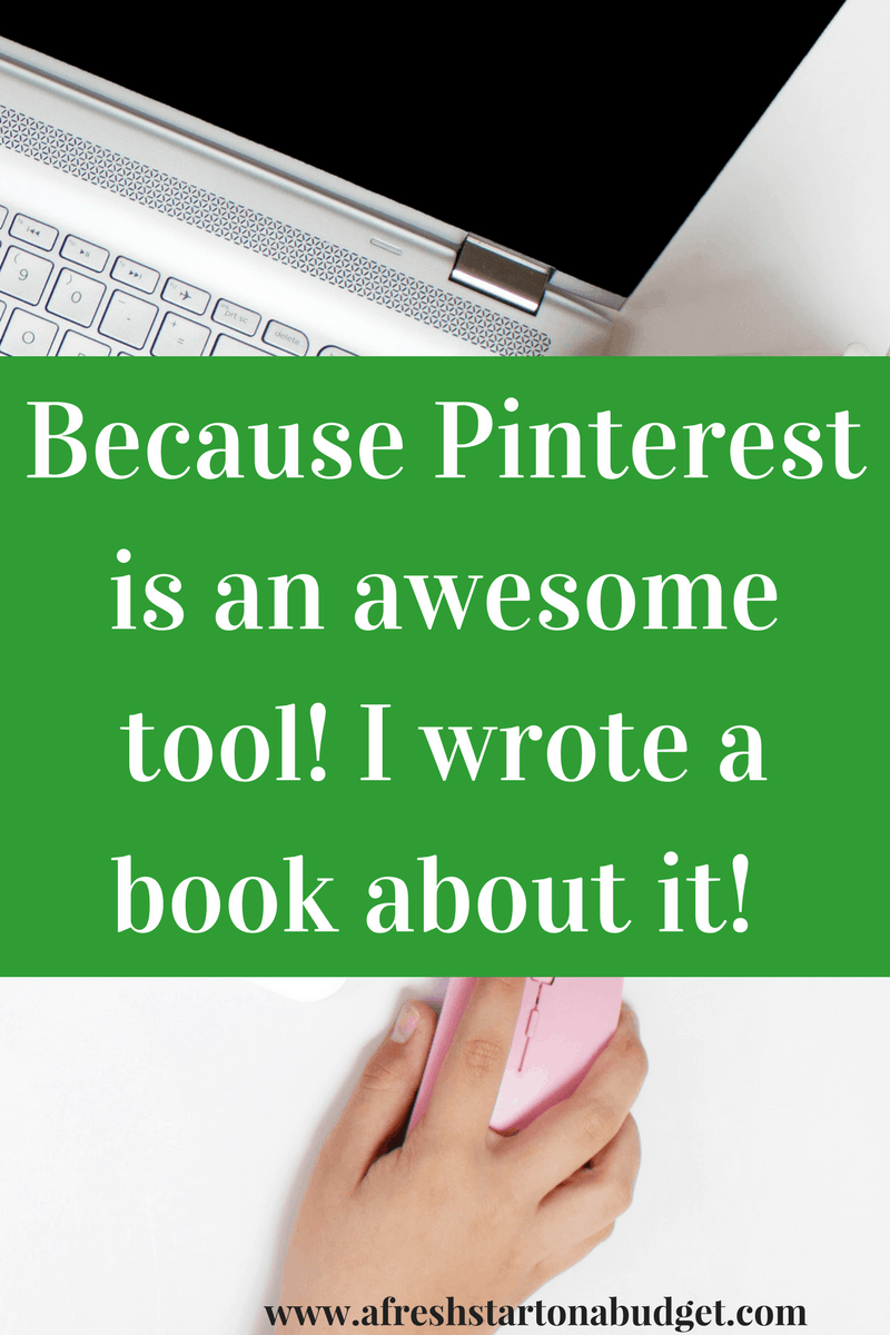 Because Pinterest is an awesome tool! I wrote a book about!